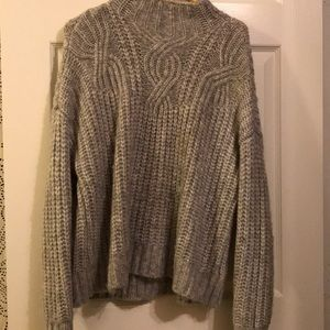 aerie mock neck sweater size small